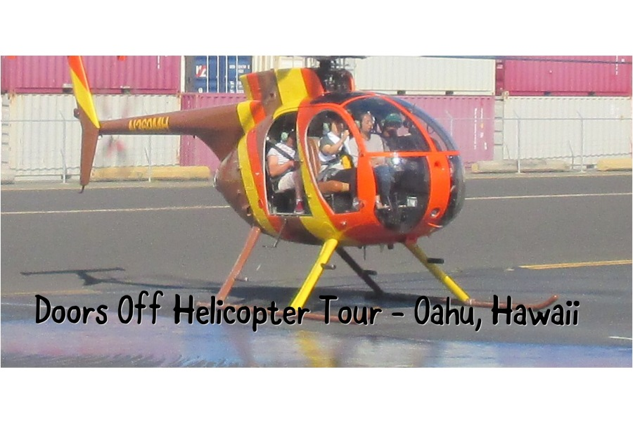 Doors Off Helicopter Tour – Oahu, Hawaii