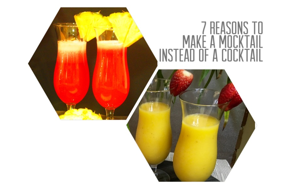 7 Reasons to Make a Mocktail Instead of a Cocktail
