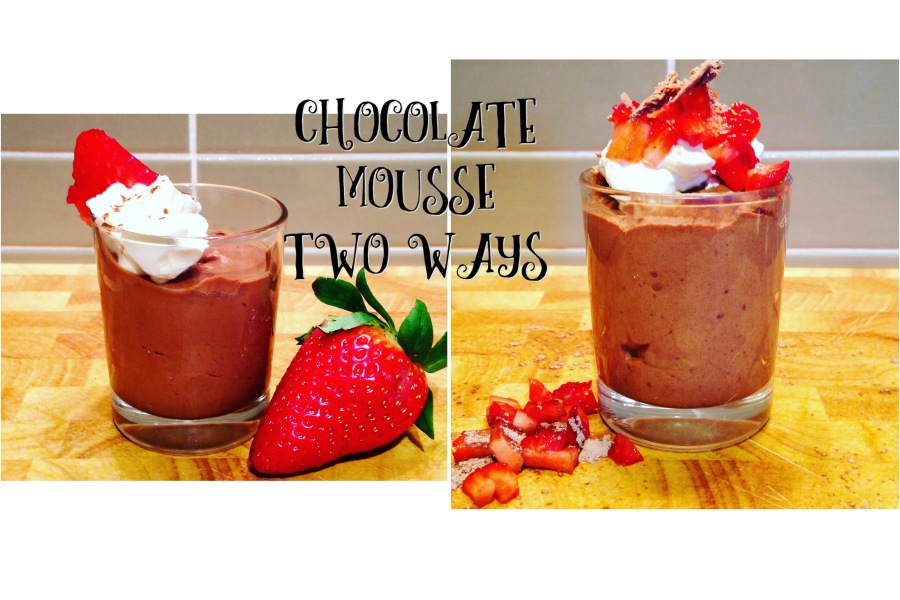 Chocolate Mousse Two Ways