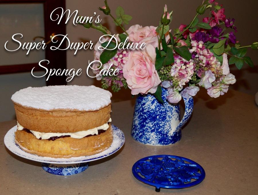 Mum's Super Duper Deluxe Sponge Cake – GLUTENFREE