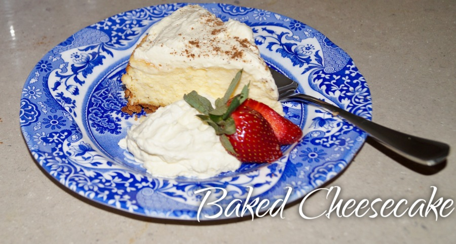 Baked Cheesecake – GLUTENFREE