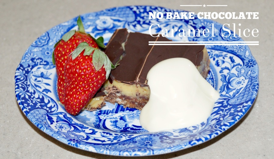 No Bake Chocolate Caramel Slice – GLUTEN FREE