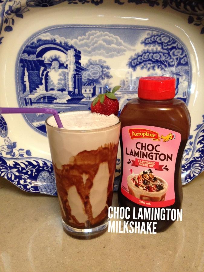 Choc Lamington Milkshake