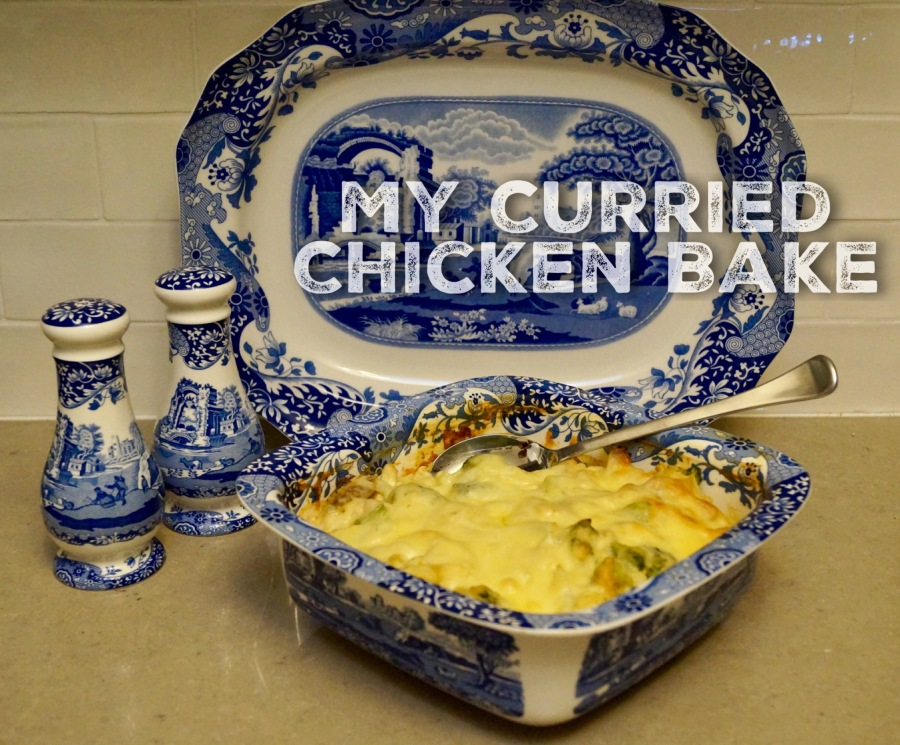 My Curried Chicken Bake