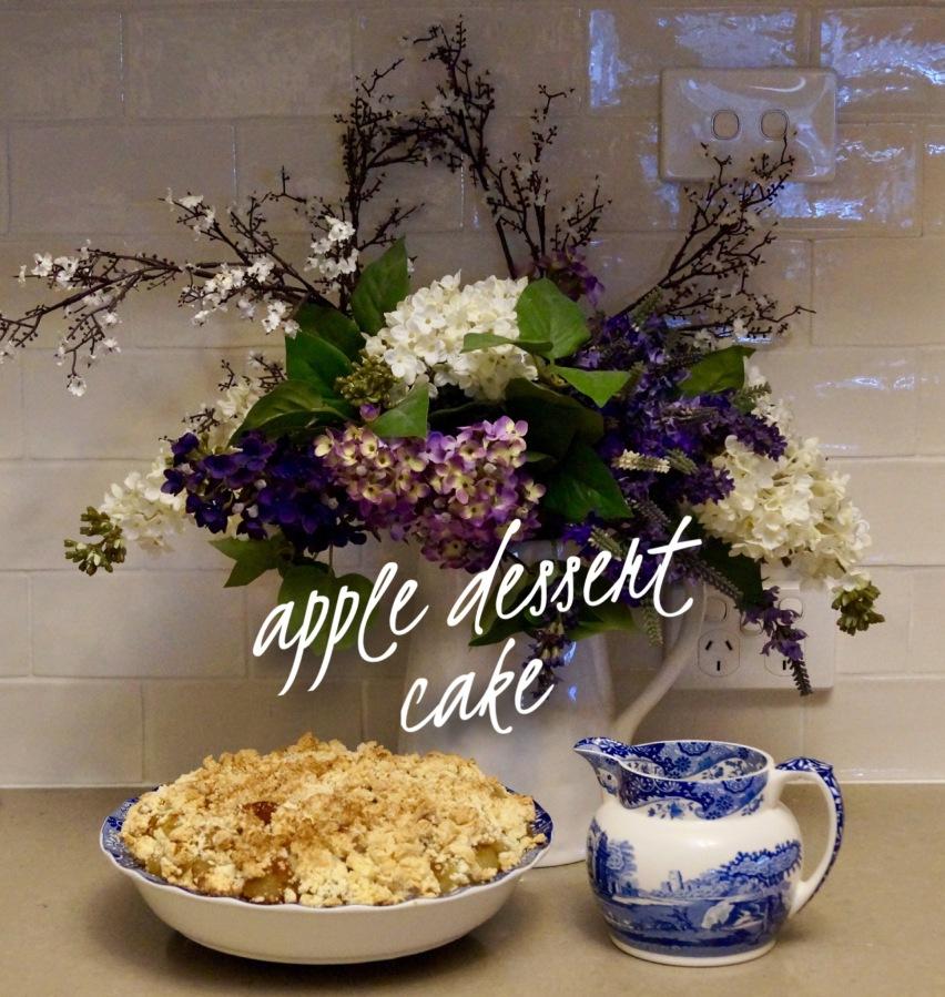 Apple Dessert Cake – GLUTENFREE