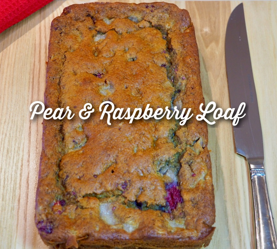 Pear & Raspberry Loaf