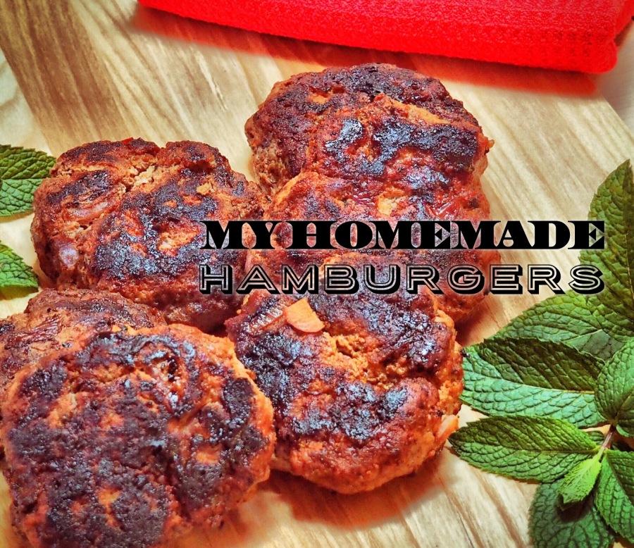 My Homemade Hamburgers