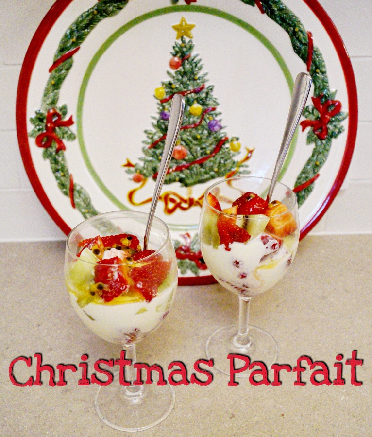 Christmas Recipe – Christmas Parfait