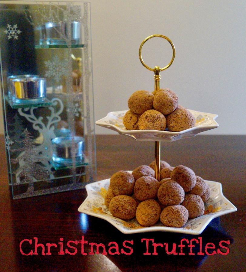Christmas Recipe – Christmas Truffles – GlutenFree