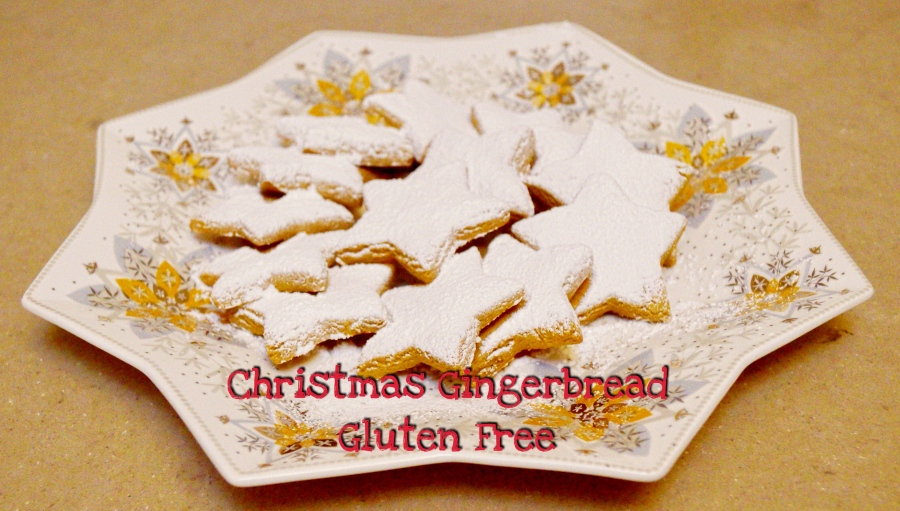 Christmas Recipe – Christmas Gingerbread – Gluten Free