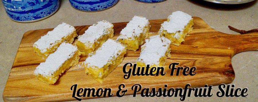 Gluten Free Lemon & PassionfruitSlice