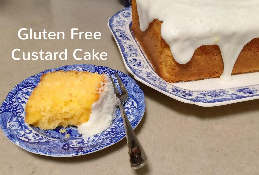 Gluten Free CustardCake