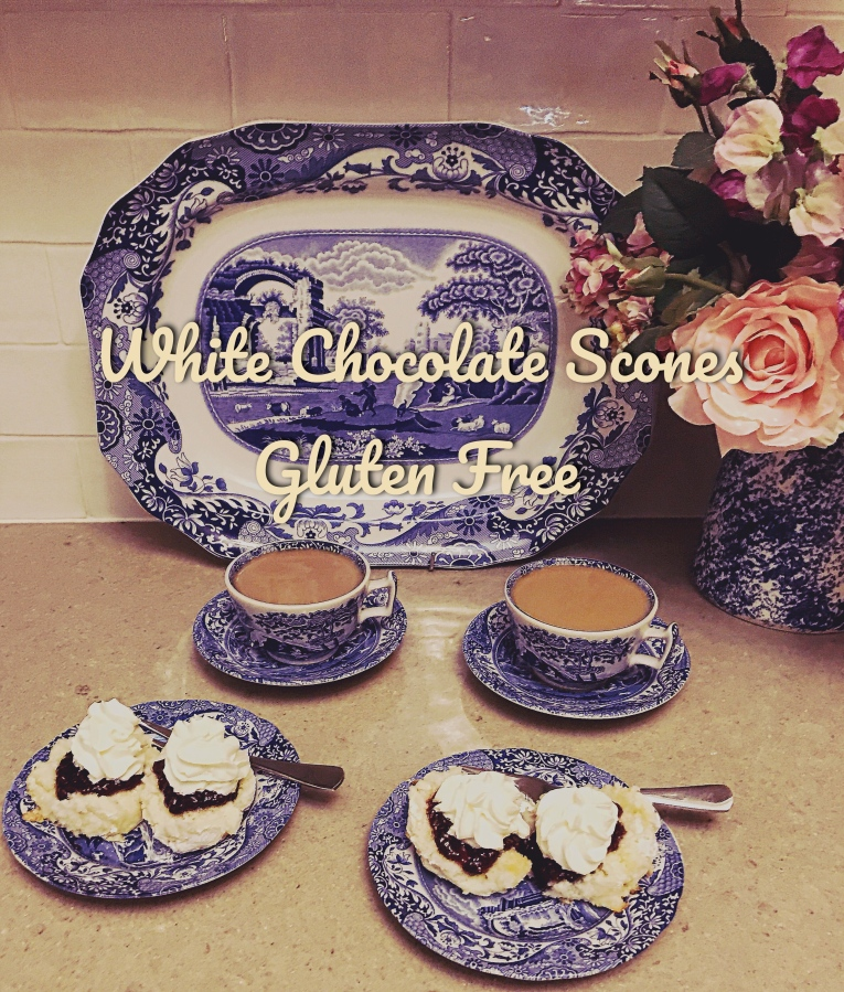 White Chocolate Scones – Gluten Free
