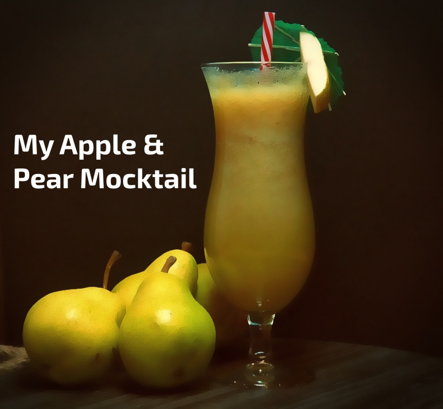 My Apple & Pear Mocktail