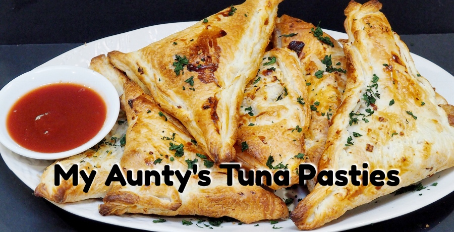 My Aunty's Tuna Pasties