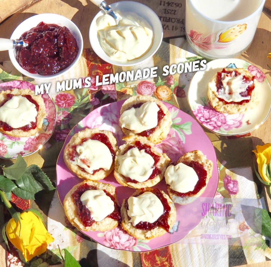 My Mum's Lemonade Scones