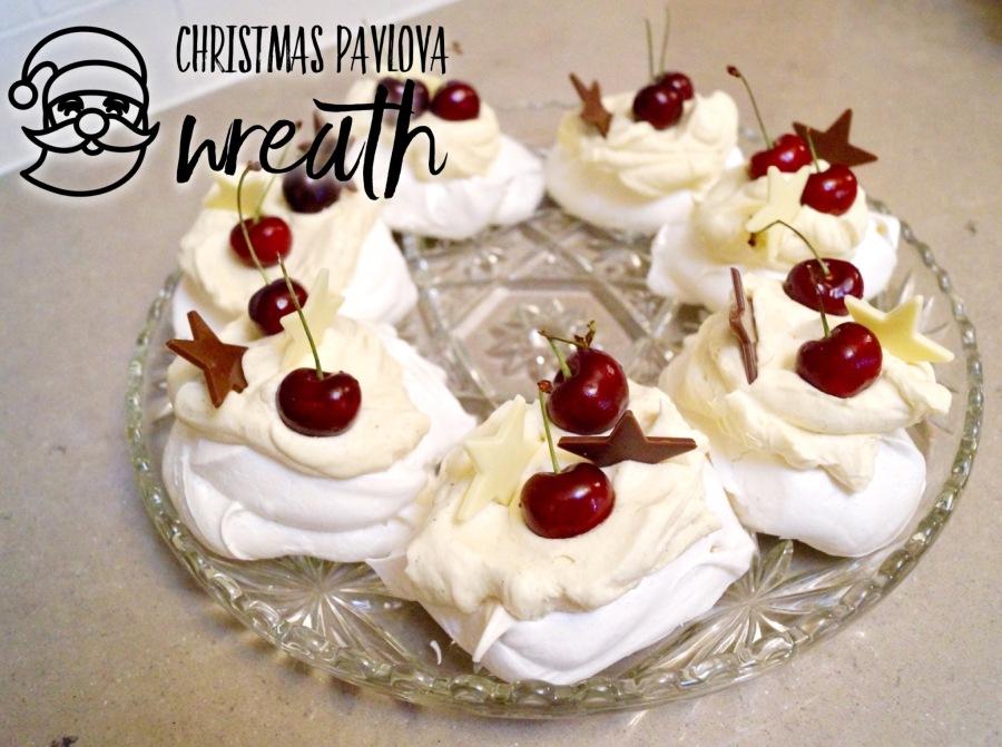 Christmas Pavlova Wreath – GlutenFree