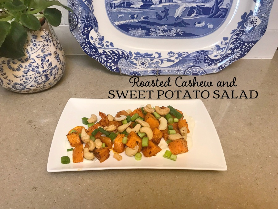 Roasted Cashew and Sweet Potato Salad